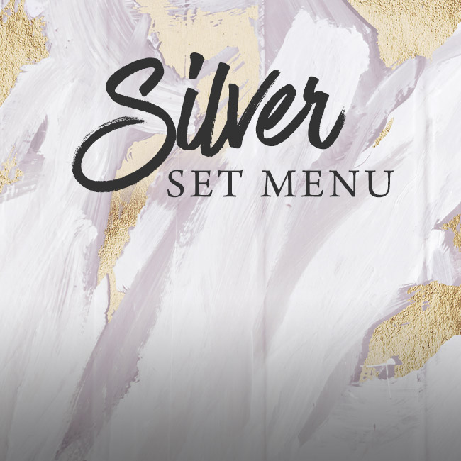 Silver set menu at The Ferry
