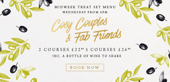Midweek treat set menu at The Ferry