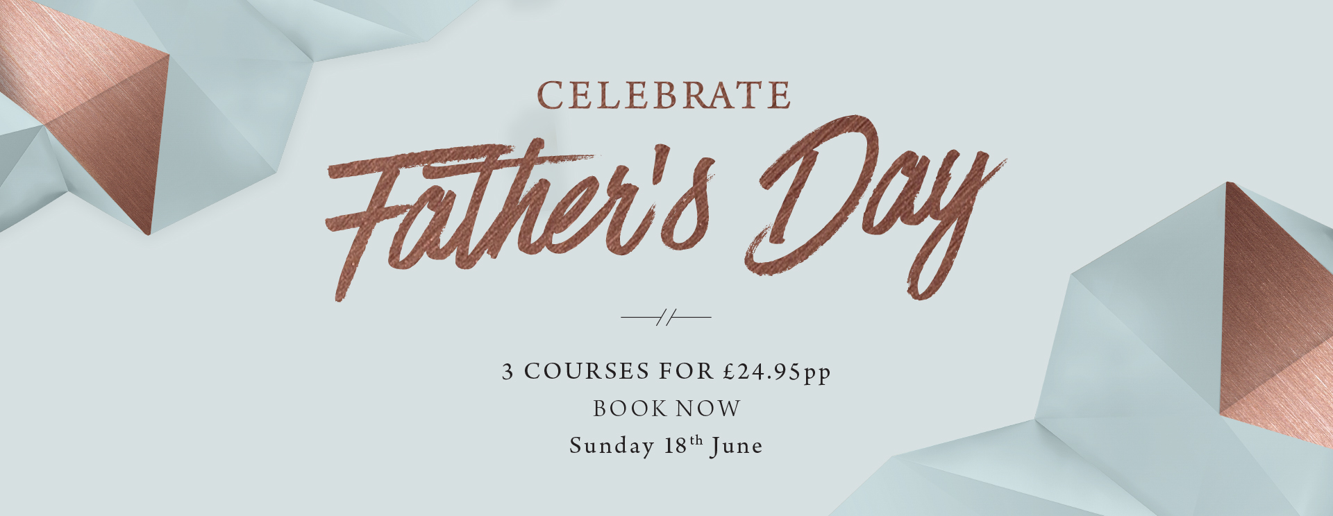Father's Day at The Ferry - Book now