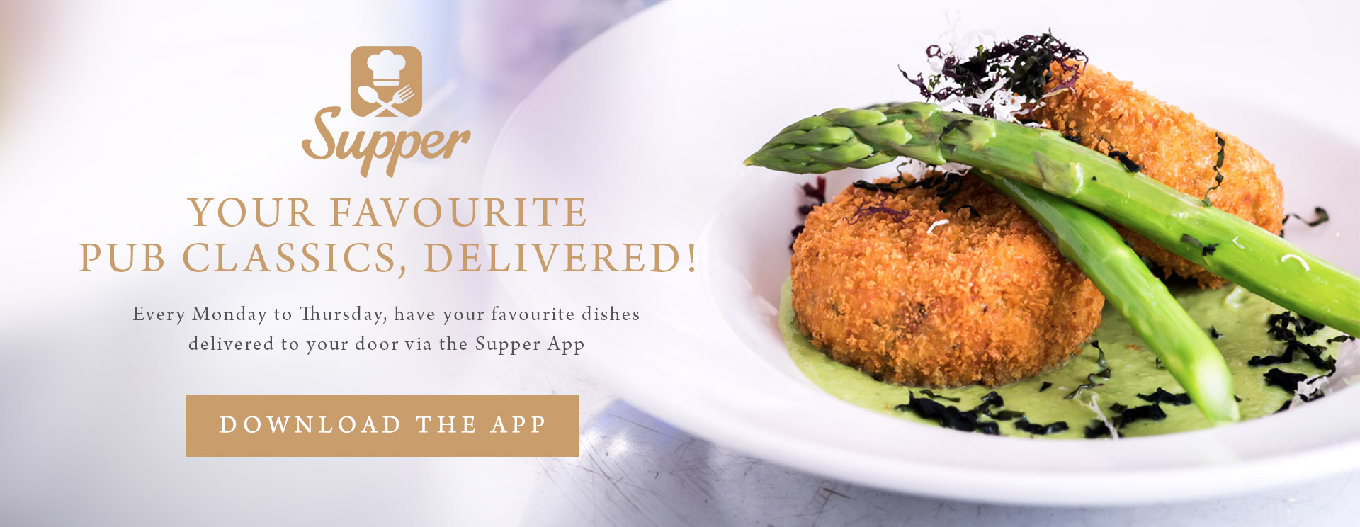 Your favourite pub classics, delivered!